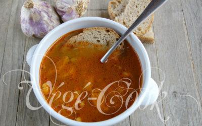 Sopa de ajo (soupe à l'ail caramélisé)