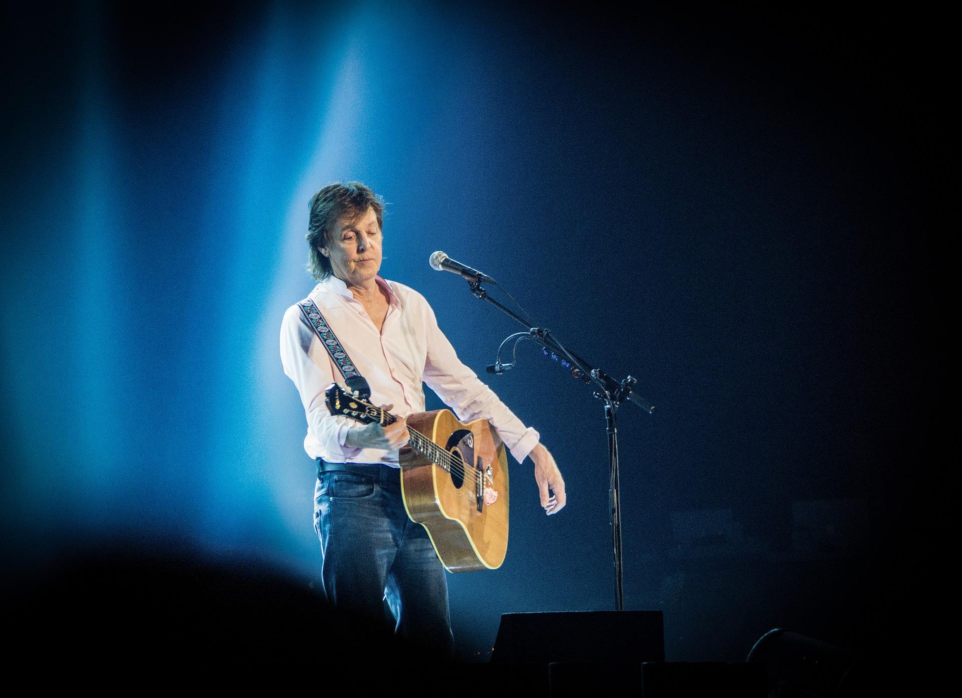 Paul McCartney végétarien